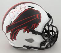Cole Beasley Signed Bills Full-Size Lunar Eclipse Alternate Speed Helmet (Beckett Hologram) at PristineAuction.com