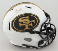 Brandon Aiyuk Signed 49ers Full-Size Lunar Eclipse Alternate Speed Helmet (Beckett COA) at PristineAuction.com