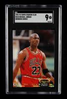 Michael Jordan 1992-93 Stadium Club #210 MC (SGC 9) at PristineAuction.com