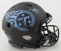 A. J. Brown Signed Titans Full-Size Authentic On-Field Eclipse Alternate Speed Helmet (Beckett COA) at PristineAuction.com
