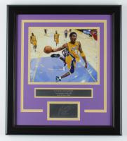 Kobe Bryant Lakers 16.5x18.5 Custom Framed Photo Display at PristineAuction.com