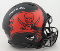 Antonio Brown Signed Buccaneers Full-Size Authentic On-Field Eclipse Alternate Speed Helmet (JSA COA) at PristineAuction.com