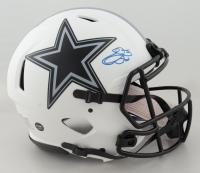 Emmitt Smith Signed Cowboys Full-Size Authentic On-FIeld Lunar Eclipse Alternate Speed Helmet (Beckett Hologram & Prova COA) at PristineAuction.com