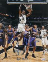 David Robinson Signed Spurs 11x14 Photo (PSA COA) at PristineAuction.com