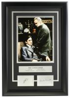 "Al Pacino & Marlon Brando ""The Godfather"" 16x18 Custom Framed Photo Display at PristineAuction.com"