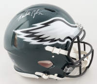 Randall Cunningham Signed Eagles Full-Size Authentic On-Field Speed Helmet (Beckett Hologram) at PristineAuction.com