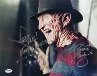 "Robert Englund Signed ""Nightmare On Elm Street"" 11x14 Photo Inscribed ""Sleep Kills!"" & ""Freddy Krueger"" (PSA COA) (See Description) at PristineAuction.com"