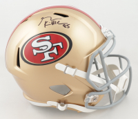George Kittle Signed 49ers Full-Size Speed Helmet (Beckett COA) at PristineAuction.com