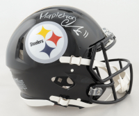 """Chase Claypool Signed Steelers Full-Size Authentic On-Field Speed Helmet Inscribed """"Mapletron"""" (Beckett Hologram) at PristineAuction.com"""