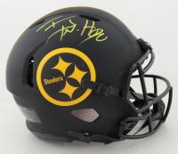 T.J. Watt Signed Steelers Full-Size Authentic On-Field Eclipse Alternate Speed Helmet (Beckett COA) at PristineAuction.com