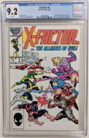 "1986 ""X-Factor"" Issue #5 Marvel Comic Book (CGC 9.2) at PristineAuction.com"