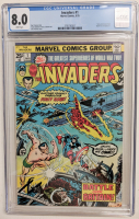 """1975 """"The Invaders"""" Issue #1 Marvel Comic Book (CGC 8.0) at PristineAuction.com"""