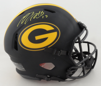 Davante Adams Signed Packers Full-Size Authentic On-Field Eclipse Alternate Speed Helmet (JSA COA) at PristineAuction.com
