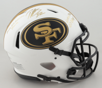 Patrick Willis Signed 49ers Full-Size Authentic On-Field Lunar Eclipse Alternate Speed Helmet with (3) Career Stat Inscriptions (Beckett COA) at PristineAuction.com