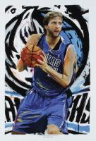 "Jason Oakes - ""Dirk Nowitzki"" Signed Mavericks Collection 13"" x 19"" Lithograph (PA COA) at PristineAuction.com"