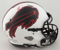 Stefon Diggs Signed Bills Full-Size Authentic On-Field Lunar Eclipse Alternate Speed Helmet (Beckett Hologram) at PristineAuction.com