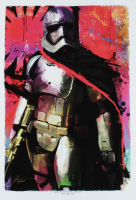 """Jason Oakes - """"Captain Phasma"""" Signed Star Wars Collection 13"""" x 19"""" Lithograph (PA COA) at PristineAuction.com"""