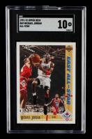 Michael Jordan 1991-92 Upper Deck #69 All-Star (SGC 10) at PristineAuction.com