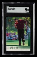 Tiger Woods 2001 Upper Deck #1 RC (SGC 9) at PristineAuction.com