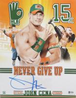 John Cena Signed 11x14 Photo (Beckett COA) (See Description) at PristineAuction.com