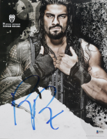Roman Reigns Signed WWE 11x14 Photo (Beckett COA) at PristineAuction.com