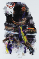 """Jason Oakes - """"Kobe Bryant"""" Signed Lakers Collection 13"""" x 19"""" Lithograph (PA COA) at PristineAuction.com"""