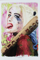 """Jason Oakes - """"Harley Quinn"""" Signed DC Comics Suicide Squad Collection 13"""" x 19"""" Lithograph (PA COA) at PristineAuction.com"""
