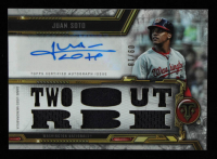 Juan Soto 2020 Topps Triple Threads Autograph Relics #TTARJSO4 #09 / 18 at PristineAuction.com