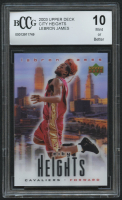 LeBron James 2003 Upper Deck City Heights LeBron James #NNO (BCCG 10) at PristineAuction.com