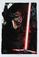 """Jason Oakes - """"Kylo Ren"""" Signed Star Wars Sith Collection 13"""" x 19"""" Lithograph (PA COA) at PristineAuction.com"""