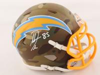 Antonio Gates Signed Chargers Camo Alternate Speed Mini Helmet (Beckett COA) at PristineAuction.com