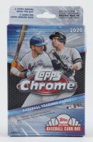 2020 Topps Chrome Baseball Hanger Box - 1 Bonus Pack of Topps Update Included (See Description) at PristineAuction.com