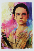 """Jason Oakes - """"Rey"""" Signed Star Wars Collection 13"""" x 19"""" Lithograph (PA COA) at PristineAuction.com"""