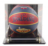 2007 NBA All-Star Basketball Signed by (28) with Lebron James, Kobe Bryant, Yao Ming, Vince Carter with Display Case (PSA LOA) (See Description) at PristineAuction.com