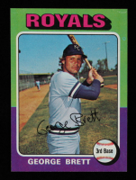 George Brett 1975 Topps #228 RC at PristineAuction.com