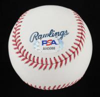 "Nolan Ryan Signed OML Hall of Fame Logo Baseball Inscribed ""H.O.F. '99"" (PSA LOA - Graded 9.5) at PristineAuction.com"