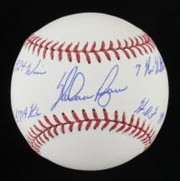 Nolan Ryan Signed OML Baseball With (4) Career Stat Inscriptions (PSA LOA - Graded 10) at PristineAuction.com