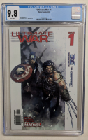 """2003 """"Ultimate War"""" Issue #1 Marvel Comic Book (CGC 9.8) at PristineAuction.com"""