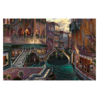 """Robert Finale Signed """"Venice Romance"""" Artist Embellished Limited Edition 12x18 Giclee on Canvas at PristineAuction.com"""