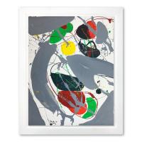 Jenik Cook Signed 32x26 Custom Framed Original Acrylic Painting at PristineAuction.com