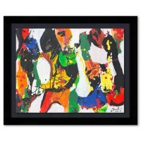 Jenik Cook Signed 27x33 Custom Framed Original Acrylic Painting at PristineAuction.com