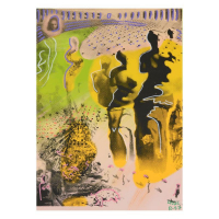 """Ringo Signed """"Hallucinogenic Toreador"""" 12x16 One-of-a-Kind Mixed Media on Canvas at PristineAuction.com"""