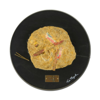 """Tom Pergola Signed """"Future Fossil: Twinkies"""" 18"""" Original Mixed Media Sculpture Mounted on Wood at PristineAuction.com"""