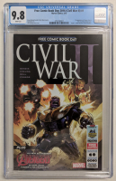 """2016 """"Civil War II"""" Free Comic Book Day Issue #1 Marvel Comic Book (CGC 9.8) at PristineAuction.com"""