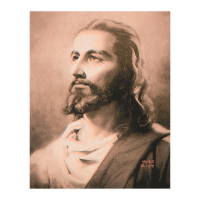 """Ringo Signed """"Jesus"""" 12x16 One-of-a-Kind Hand Pulled Silkscreen on Canvas at PristineAuction.com"""