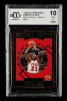 Michael Jordan 1995-96 Upper Deck Predictor MVP #R1 MVP (BCCG 10) at PristineAuction.com