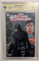 "Ryan Kincaid Signed 2019 ""Batman / Superman"" Issue #1 Comics Elite Exclusive Variant B DC Comic Book (CGC 9.8) at PristineAuction.com"