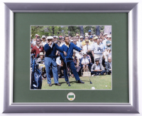 Ben Hogan & Arnold Palmer Augusta National Masters 13x16 Custom Framed Photo with Masters Pin at PristineAuction.com