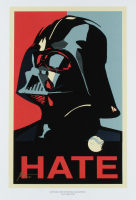 """Jason Oakes - """"Darth Vader Hate"""" Signed Star Wars Special Edition 13"""" x 19"""" Lithograph (PA COA) at PristineAuction.com"""