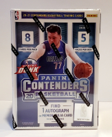 20-21 Panini Contenders Basketball Blaster Box with (5) Packs at PristineAuction.com
